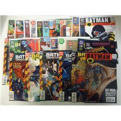 30-DC COMICS  1986 - 2007  SUPERBOY, SUPERGIRL, SUPERMAN, BATMAN, ROBIN,CATWOMAN