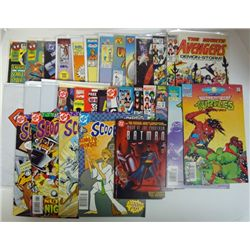 31- COMICS (Marvel,DC,Archie) mostly 1983-93.  COVER VALUE $70.00