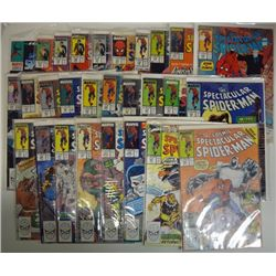 27-SPECTACULAR SPIDER-MAN COMICS (Marvel) 1990-1997  COVER VALUE $30.00