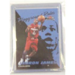 2 - LeBron James Rookie Cards 03-04 Fleer Tradition & Fleer Playground Rules