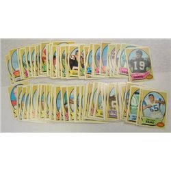 100-1970 Topps Football Cards - All Different