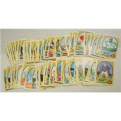 100-1970 Topps Football Cards-All Different Mostly NM-EM