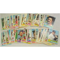 100-1976 Topps Baseball Cards-All different, Mostly NM-EM