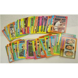 100-1975 Topps Baseball Cards-All different