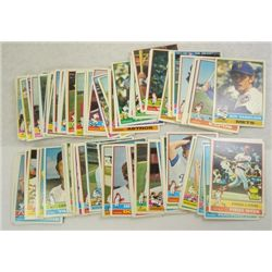 100-1976 Topps Baseball Cards-All different