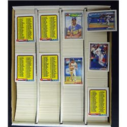3200ct Box 1992 Topps Baseball Cards, Mint