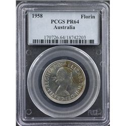 1958 Melbourne Proof Set  PCGS Graded
