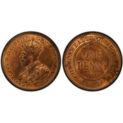 1912H Penny PCGS MS64 RB