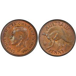 1940 KG Penny MS62 Brown