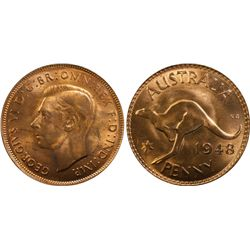 1948M Penny PCGS MS64 Red