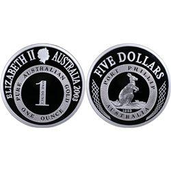 Australia 2003 $5 PR 70 DCAM