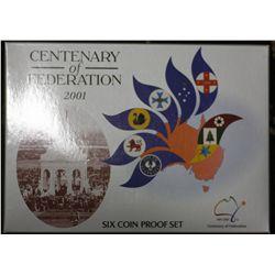 2001  Proof Set, Centenary of Federation