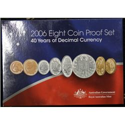 2006 Proof Set, 40 Years of Decimal Currency