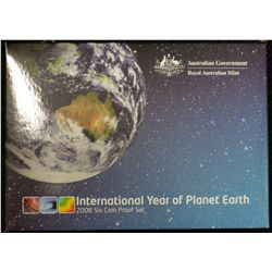 2008 Proof Set, International Year of Planet Earth