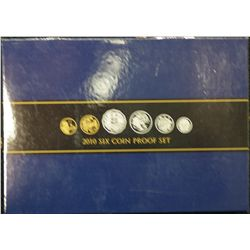 2010 Proof Set, Australian Circulating Coin Designs