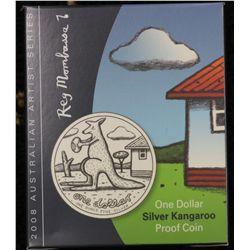 2008 Silver Roo Proof, Reg Mombassa