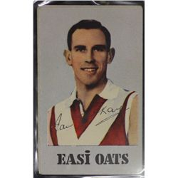 Easi Oats, S.A.N.F.L Footballers, Issued 1954, Series 3