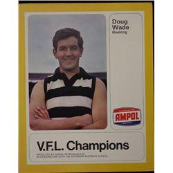 V.F.L Champions Ampol and 3UZ issued 1968