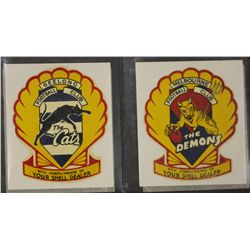 Shell 1962 V.F.L Football Clubs Stickers