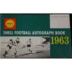"""Shell"" Football Autograph book"