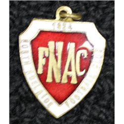 North Adelaide (S.A.N.F.L) metal and enamel membership  medallion