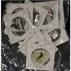 SANFL Football Club 11 Consecutive Portonian Badges
