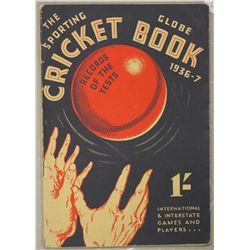 """The Sporting Globe"" cricket book 1936/1937"