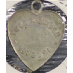 S.A.C.A (Adelaide Oval) Membership Medallion 1890/1891.