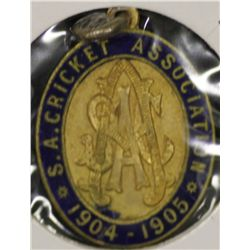S.A.C.A (Adelaide Oval) Membership Medallion 1904/1905.