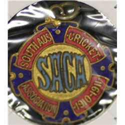 S.A.C.A (Adelaide Oval) Membership Medallion 1910/1911.
