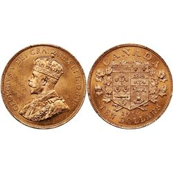 1914 Canada $10 PCGS MS64