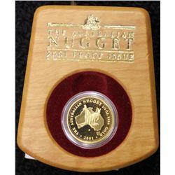 Australia 2001 Proof ¼ oz Nugget