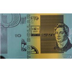 Australia $10 Blocks of 4, Fraser /Cole