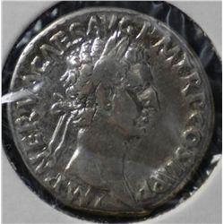 Nerva Denarius 96-98 AD Good Fine
