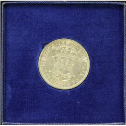 South Africa Specimen ½ Crown 1952
