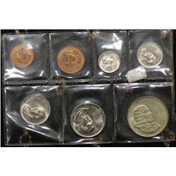 South Africa Mint Sets 1966 (2) 1967 (2), 1968 (2) 1969