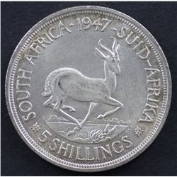 South Africa Crown 1947