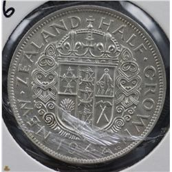 New Zealand ½ Crown 1942