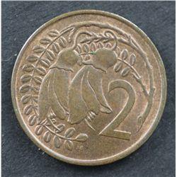 1967 Mule NZ 2c Uncirculated