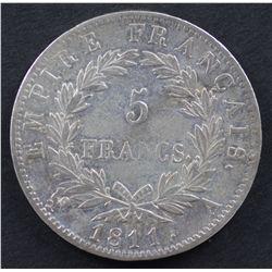 France 5 Franc 1811 A