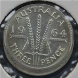 Australia Threepence misstrikes 1956 & 1964