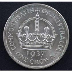 Australia 1937 Crown Choice Uncirculated
