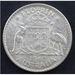 1940 Florin Choice Uncirculated