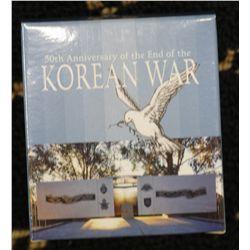 2003 $ 1 Proof Korean War, 2011 Silver $1 Kangaroo at sunset