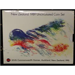NZ Mint Sets 1969, 1985,1986,1987 In Packs of issue