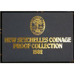 Seychelles Proof set 1982, Cook Islands 1983