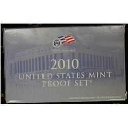 USA Proof Set 2010