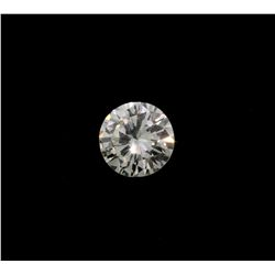 DIAMOND:  [1] Loose round brilliant cut diamond, 11.13  x 10.88 x 6.48mms = 4.89 cts., Q-R, VS2