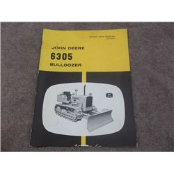 John Deere 6305 Bulldozer Manual