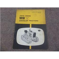 John Deere 1010 Gas & Diesel Crawler tractors